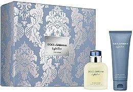 Парфюмерия и Козметика Dolce & Gabbana Light Blue Pour Homme - Комплект (тоал. вода/75ml + афтър. балсам/75ml)
