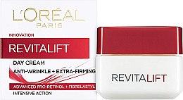 Парфюми, Парфюмерия, козметика Крем за лице против бръчки - L'Oreal RevitaLift Anti-Wrinkle + Extra Firming Day Cream