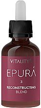 Парфюмерия и Козметика Реконструиращ концентрат за коса - Vitality's Epura Reconstructing Blend