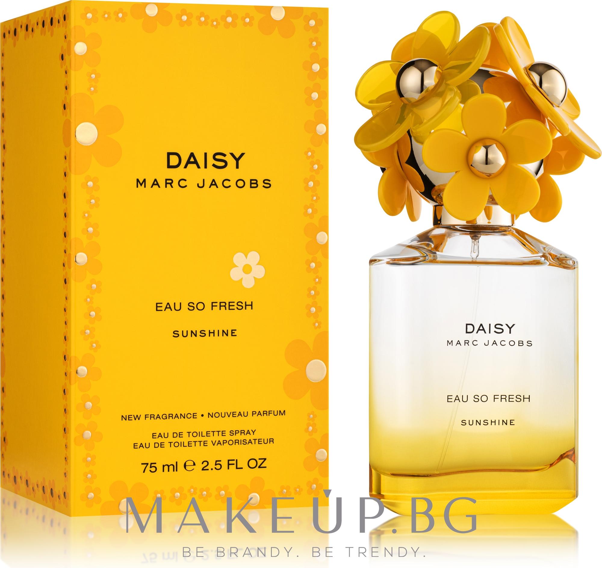 Marc Jacobs Daisy Eau So Fresh Sunshine 2019 - Тоалетна вода — снимка 75 ml