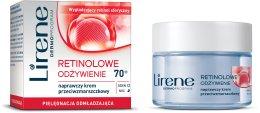 Парфюми, Парфюмерия, козметика Подхранващ крем против бръчки - Lirene 70+