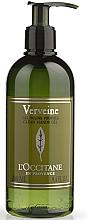 """Парфюмерия и Козметика Дезинфекциращ гел за ръце """"Върбинка"""" - L'Occitane Verbena Clean Hands Gel"""