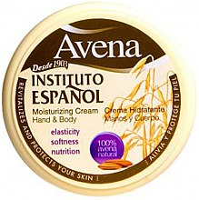 Парфюмерия и Козметика Хидратиращ крем за ръце и тяло - Instituto Espanol Avena Moisturizing Cream Hand And Body