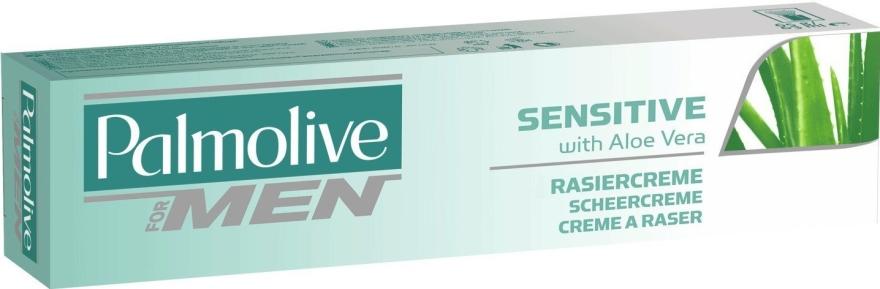 Крем за бръснене - Palmolive For Men Sensitive Shave Cream With Aloe Vera