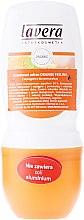 "Парфюми, Парфюмерия, козметика Рол-он дезодорант ""Портокалови чувства"" - Lavera 24H Deodorant With Orange&Sea Buckthorn"