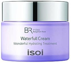 Парфюмерия и Козметика Хидратиращ крем за лице - Isoi Bulgarian Rose Waterfull Cream
