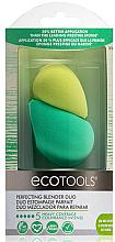 Парфюмерия и Козметика Комплект гъби за грим - EcoTools Blender Duo