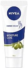 Парфюми, Парфюмерия, козметика Крем за ръце - Nivea Hand Cream Moisture Care Olive