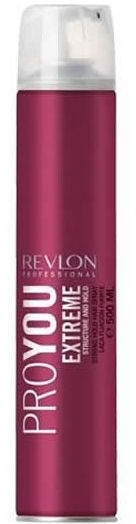 Лак за коса с ултра силна фиксация - Revlon Professional Pro You Extra Strong Hair Spray Extreme — снимка N1