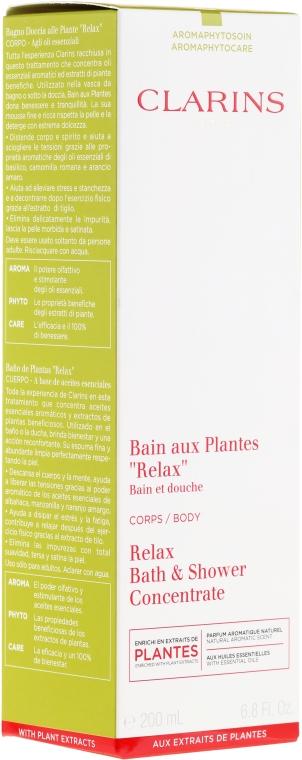 Пяна за вана - Clarins Relax Bath & Shower Concentrate — снимка N1