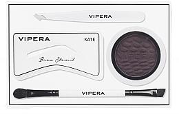 Парфюмерия и Козметика Комплект за моделиране на вежди - Vipera Celebrity Eyebrow Definer Kit