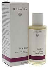 Парфюмерия и Козметика Есенция за вана с аромат на роза - Dr. Hauschka Rose Nurturing Bath Essence