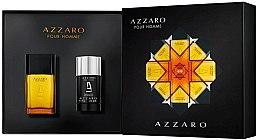 Парфюми, Парфюмерия, козметика Azzaro Pour Homme - Комплект (тоал. вода/50ml + део/75ml)