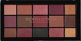Палитра сенки за очи - Makeup Revolution Re-Loaded Palette — снимка N1