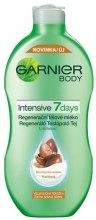 Парфюми, Парфюмерия, козметика Лосион за тяло с масло от ший - Garnier Body Intensive 7 Days Regenerating Shea Butter Body Lotion