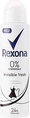 """Дезодорант-спрей """"Invisible Fresh"""" - Rexona Deodorant Spray — снимка N1"""