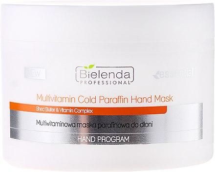 Мултивитаминна маска за ръце - Bielenda Professional Multivitamin Cold Paraffin Hand Mask — снимка N1