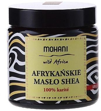 """Масло за лице и тяло """"Шеа"""" - Mohani African Unrefined Shea Butter — снимка N1"""