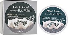 Парфюмерия и Козметика Хидрогел пачове за под очи с черни перли - Esfolio Black Pearl Hydrogel Eye Patch