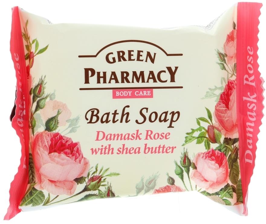 """Сапун """"Роза дамасцена с масло от ший"""" - Green Pharmacy"""