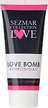 Парфюмерия и Козметика Душ гел за интимна хигиена - Sezmar Collection Love Aphrodisiac Shower Gel Love Bomb
