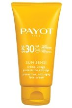 Парфюми, Парфюмерия, козметика Слънцезащитен крем против стареене за лице SPF 30 - Payot Sun Sensi Protective Anti-aging Face Cream