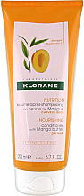 Парфюмерия и Козметика Кондиционер за коса - Klorane Nourishing Conditioner With Mango Butter