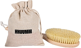 Парфюмерия и Козметика Четка за масаж с тампико влакно, удължена - Hhuumm № 5