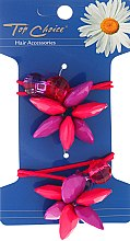 Парфюми, Парфюмерия, козметика Ластици за коса с цвете, 21480 - Top Choice