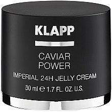 Парфюмерия и Козметика Крем-желе за лице с екстракт от хайвер - Klapp Caviar Power Imperial 24H Jelly Cream