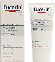 Парфюми, Парфюмерия, козметика Крем за лице - Eucerin Ato Control Face Care Cream