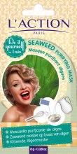 Парфюми, Парфюмерия, козметика Почистваща маска за лице на основата на водорасли - L`Action Paris Do It Yourself Seaweed Purifying Mask