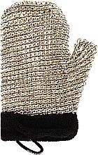 Парфюмерия и Козметика Масажна ръкавица за баня за мъже - Suavipiel Black Men Sisal Glove
