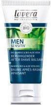 Парфюмерия и Козметика Мъжки успокояващ балсам за след бръснене - Lavera Men Sensitiv Beruhigender After Shave Balsam