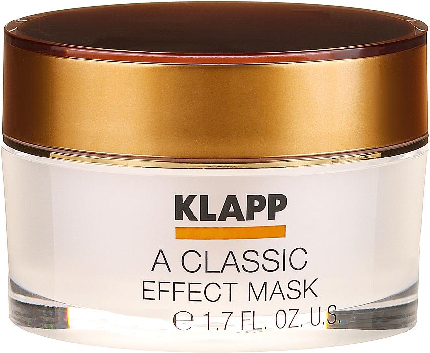 Маска за лице - Klapp A Classic Effect Mask (мини) — снимка N1
