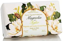 "Парфюмерия и Козметика Натурален сапун ""Магнолия и Липа"" - Saponificio Artigianale Fiorentino Magnolia&Linden Soap"