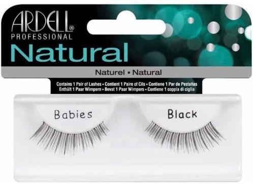 Изкуствени мигли - Ardell Natural Babies Black — снимка N1