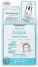 Парфюми, Парфюмерия, козметика Тристепенна маска за лице - Bergamo 3-Step Aqua Mask Pack