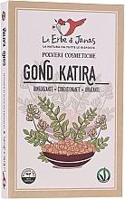 Парфюмерия и Козметика Укрепваща билкова пудра от трагакант за коса - Le Erbe di Janas Gonda Katira (Tragacanth)