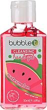 """Парфюмерия и Козметика Антибактериален гел за ръце """"Диня"""" - Bubble T Watermelon Hand Cleansing Gel"""