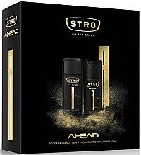 Парфюми, Парфюмерия, козметика Str8 Ahead - Комплект дезодоранти (deo/75ml + deo/150ml)
