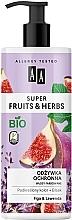 Парфюмерия и Козметика Балсам за коса със смокиня и лавандула - AA Super Fruits & Herbs Conditioner Fig & Lavender