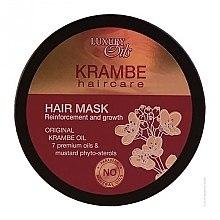 Парфюмерия и Козметика Укрепваща маска за растеж на косата с органични масла от крамбе и шафран - Argan Haircare