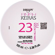 Парфюми, Парфюмерия, козметика Водоустойчива вакса за коса - Dikson Finish Keiras 23 Water Based Fixing Wax For Hair