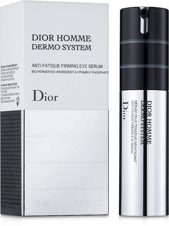 Стягащ и укрепващ околоочен серум за мъже - Dior Homme Dermo System Eye Serum 15ml — снимка N1