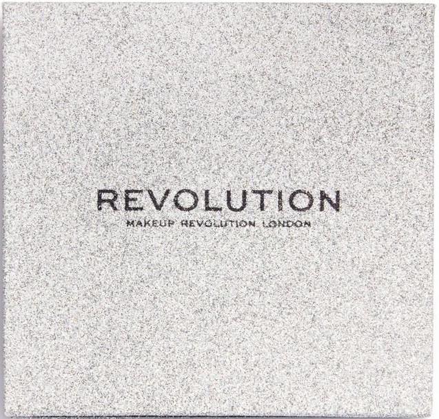 Палитра с блясъци за очи - Makeup Revolution Pressed Glitter Palette Illusion — снимка N2