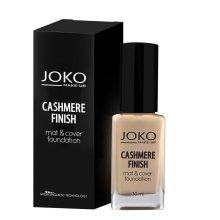 Парфюмерия и Козметика Фон дьо тен - Joko Cashmere Finish Mat & Cover Foundation