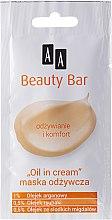 """Парфюми, Парфюмерия, козметика Подхранваща маска за лице - AA Beauty Bar Mask """"Oil in Cream"""""""
