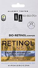 Парфюмерия и Козметика Подмладяваща маска за брадичка, шия и деколте - AA Retinol Intensive Bio-Retinol Complex 50+ 60+ 70+ Mask