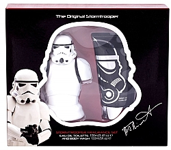 Парфюмерия и Козметика Disney Star Wars Stormtrooper - Комплект (тоал. вода/100ml + душ гел/150ml)